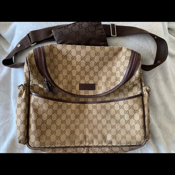 d733329be6c5 Gucci Handbags - Gucci diaper bag (authentic)
